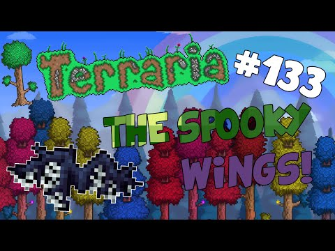 Let's Play Terraria iOS/Android (1.2) - Crafting the Spooky Wings! (Spooky Twig) - 133