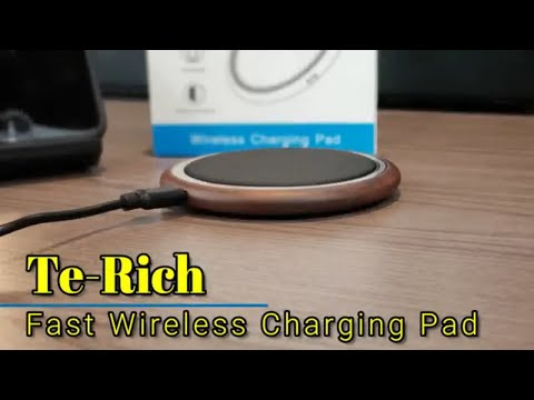 Te-Rich Fast Wireless Charging Pad - for iPhone and Samsung