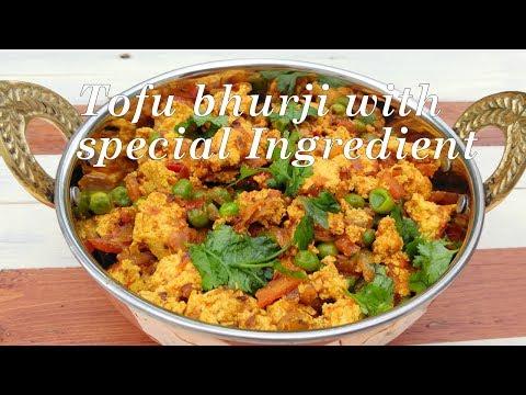Tofu ki Bhurji | Tofu  sabzi indian | Easy vegan paneer recipe | Soya Paneer | Tofu tastes better
