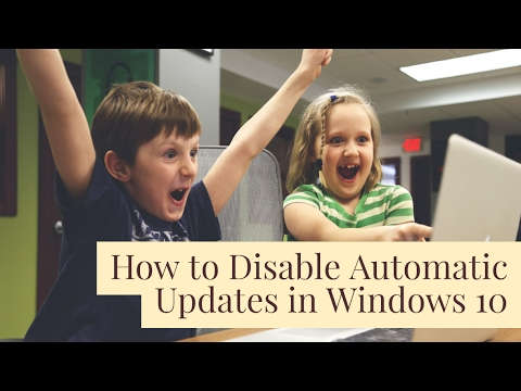 How to Turn Off Background Automatic Updates on Windows 10 (2017)