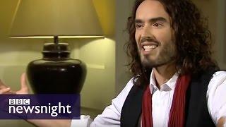 Paxman vs Russell Brand - full interview - BBC Newsnight