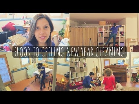 SPEED CLEAN | Clean The Whole House With Natural Homemade Cleaning Recipes!