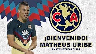 MATHEUS URIBE ES NUEVO JUGADOR DEL AMÉRICA