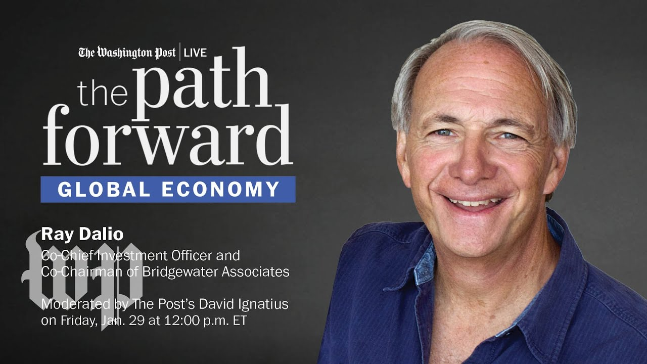 Ray Dalio on the global economy, the Biden administration, and more (LIVE, 1/29)