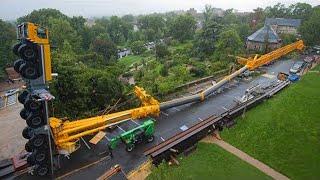 5 Extreme Biggest Heavy Equipment Machines Working, Dangerous Biggest Crane Truck Operator Skill ▶ 2