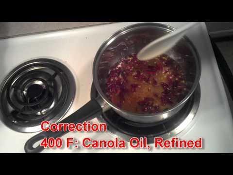 Homemade pepper infused Oil