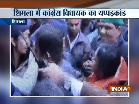 Shimla Congress MLA Asha Kumari slaps woman constable, gets slapped back