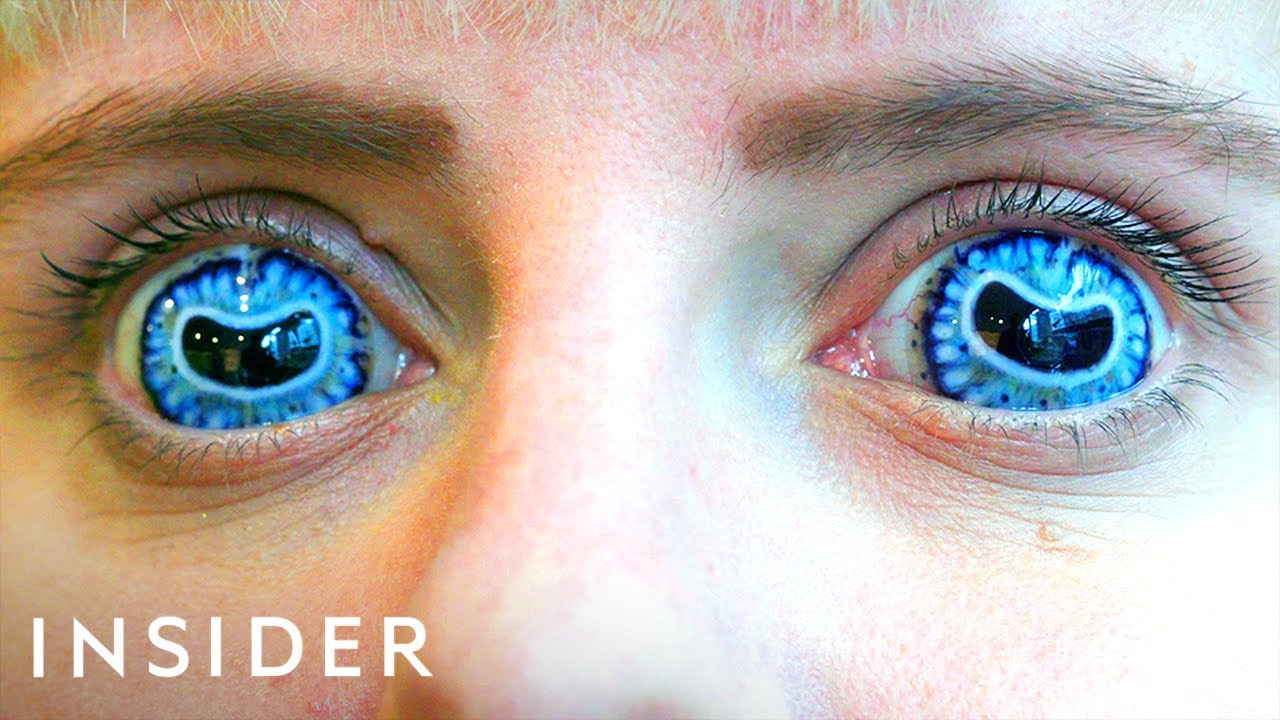 How Contact Lenses Are Made For Movies   Movies Insider