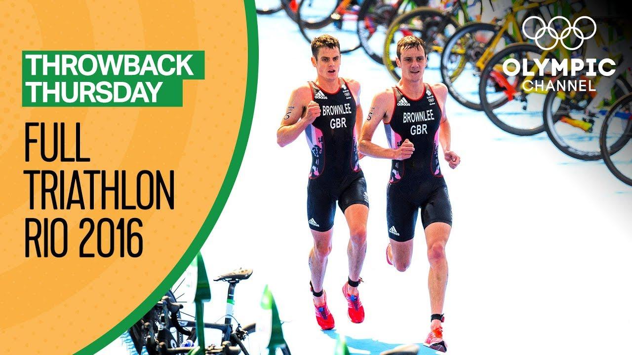 FULL Men's Triathlon - Rio 2016 Replay   Throwback Thursday