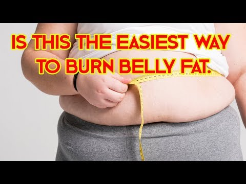 SIMPLE AND EASIEST WAY TO BURN BELLY FAT THAT YOU'VE ALWAYS WANTED!!