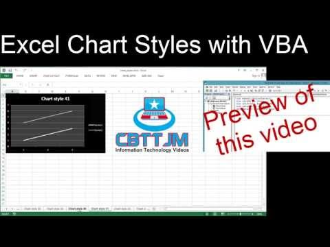 Exploring Excel Chart Styles with VBA