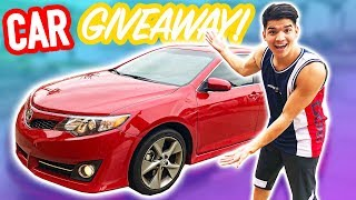 GIVING AWAY MY FIRST CAR EVER! (You Could Win)