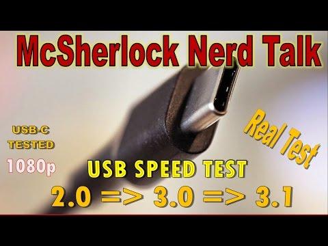 USB 3.1 vs 3.0 Speed Test