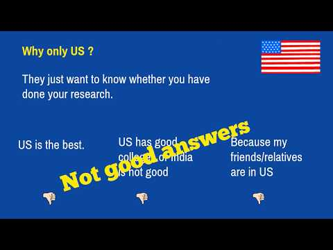 F-1 Visa Interview Questions With Answers | Country and university specific questions