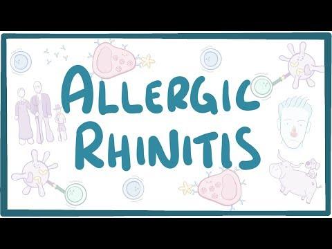 Allergic Rhinitis - causes, symptoms, diagnosis, treatment, pathology