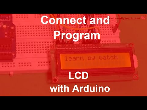 LCD with Arduino - Connect and Program Liquid Crystal Display with Arduino Uno - Arduino Project