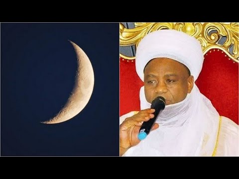 This Is What Happens Between Sultan Of Sokoto & His People's About The Sighting Of The Moon.