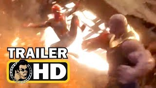 Download AVENGERS: INFINITY WAR ″Spiderman Fights Thanos″ TV Spot Trailer NEW (2018) Marvel Superhero Movie Video