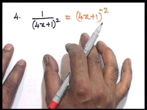 C3 Differentiation Part 1