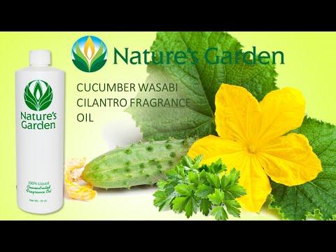 Cucumber Wasabi Cilantro Fragrance Oil- Natures Garden
