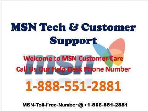 Msn Help Desk Phone Number| How to Password Reset & Recovery