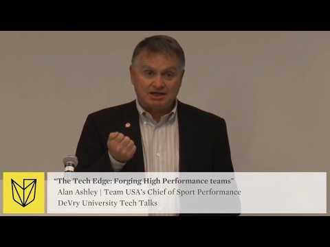 DeVry University Tech Talk: USOC Team USA - Forging High Performance Teams - Need For Data