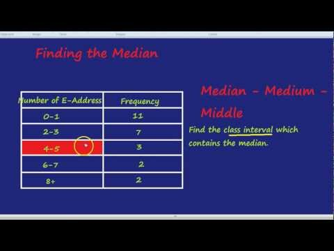 Finding the Median