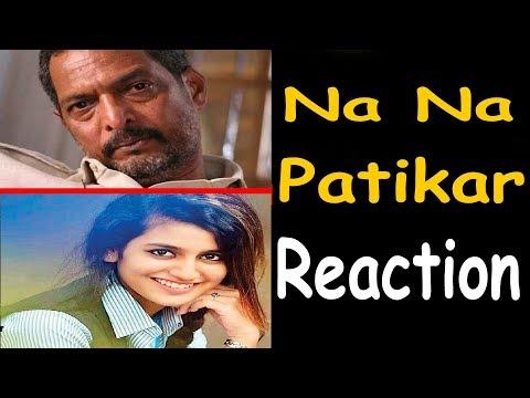 Priya  Praksh varrier  Funny Video | NANA PATEKAR REACTION ON PRIYA PRAKASH VARRIER