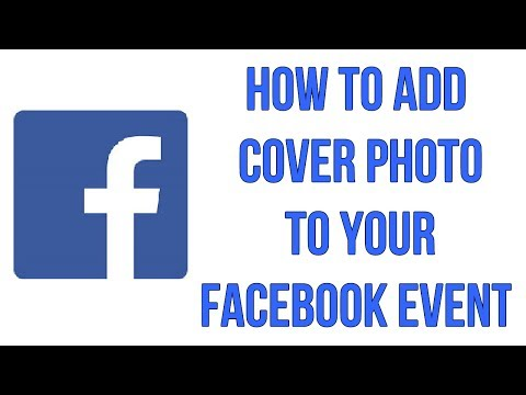 How To Add Cover Photo To Your Facebook Event