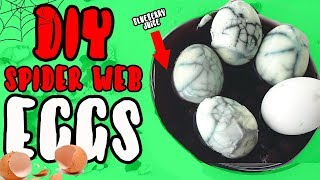 D.I.Y SPIDER WEB EGGS! | EASY CRAFTS