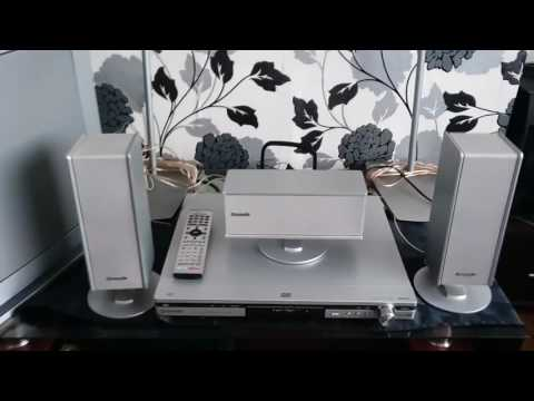 Panasonic sa ht500 specifications. Home cinema surround sound system with active subwoofer.