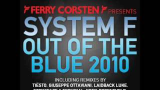 System F  Out Of The Blue 2010 Tisto Remix Hq