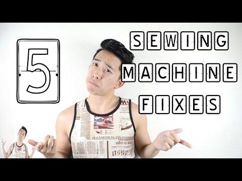 5 Sewing Machine Fixes