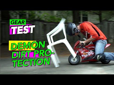 EXTREME GEAR TEST - Demon Dirt + Razor Pocket Bike