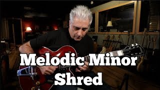 Melodic Minor Shred | Creating Melodic Super Structures