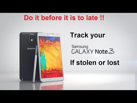 Galaxy Note 3- Galaxy S3-Galaxy S4- How To Find-Track-Lock Your Lost or Stolen Phone tips tricks