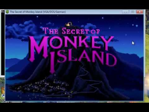 GDPC: The Secret of Monkey Island auf Windows XP + Vista + 7 + 8 spielen mit ScummVM Monkey Island 1