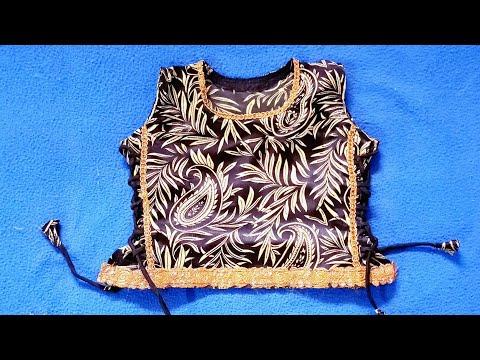 Kids designer lehenga choli  cutting and stitching in hindi