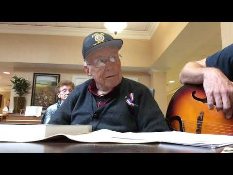 WWII B-24 Pilot sings IT'S BEEN A LONG LONG TIME and talks about the impact of the song