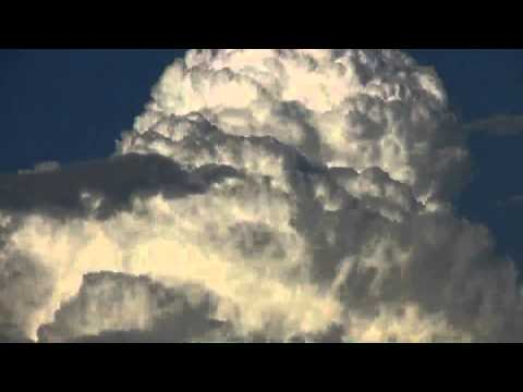 Arizona Monsoon Thunderhead Clouds - Time Lapse 20x Fast Motion Speed