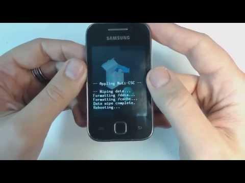 Samsung Galaxy Y S5369 hard reset