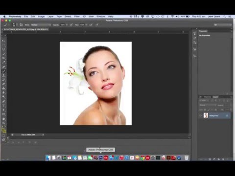 Using Google Images to Import an Image into Photoshop & Editing