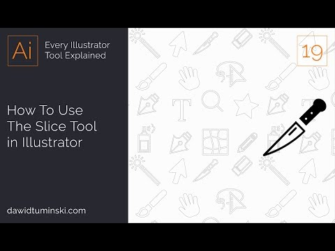 How To Use the Slice Tool in Illustrator