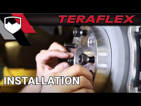 TeraFlex Install: Wheel Offset Adapters (1055000)