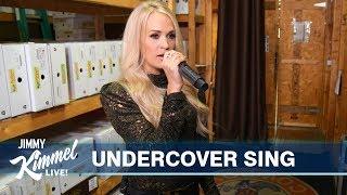 Carrie Underwood Pranks Unsuspecting Fans in Nashville