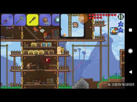 Dirty the Magical Dirt Block & the Greatest Rollercoaster You Have Ever Seen! (Terraria Android #13)