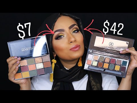 $7 Dupe For ABH Subculture Palette - Side By Side Comparison