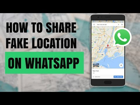How To Share Fake Location On WhatsApp In Android