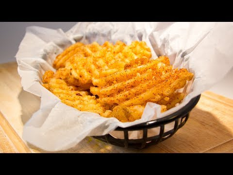 How to Make Perfect Waffle Fries