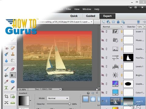 How to Do Masking with Clipping Masks in Adobe Photoshop Elements 15 14 13 12 11 Tutorial
